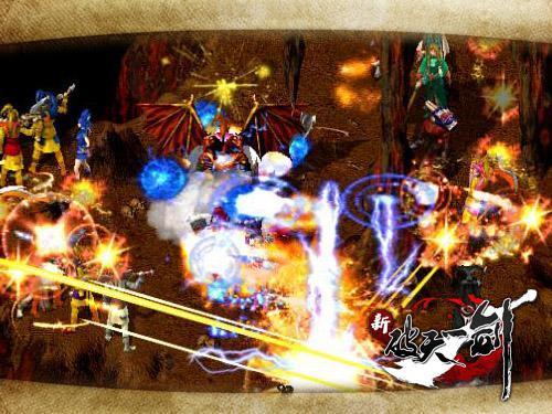 《新破天》展现最自由的武侠世界!破天私服网